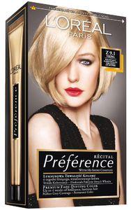 Barva za lase L'Oreal Preference Recital 9.1