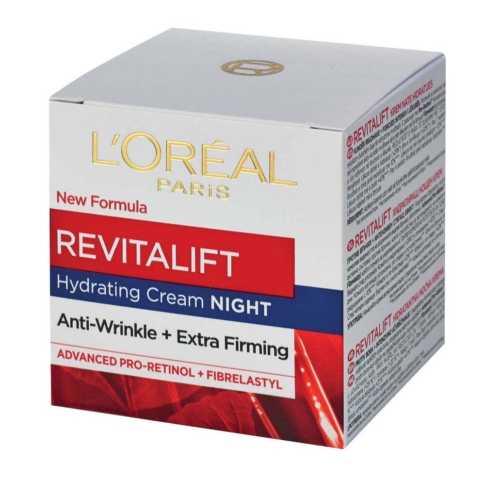 Krema L'Oreal, Dermo-Expertise Revitalift, nočna, 50 ml