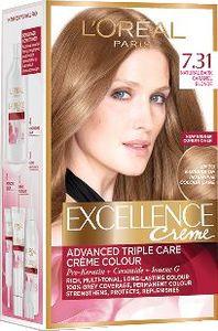 Barva za lase L'Oreal Excellence 7.31