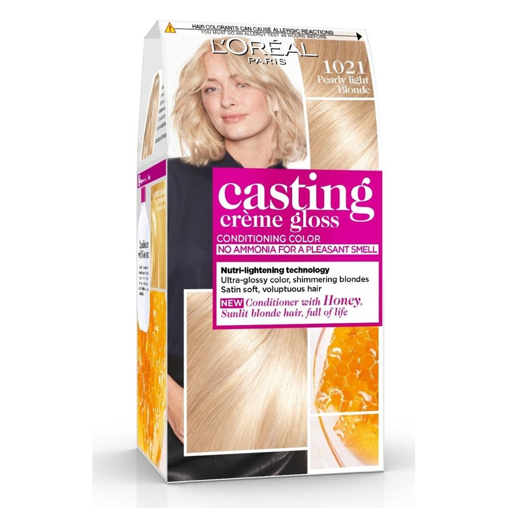 Barva za lase L'Oreal Casting Creme Gloss 1021