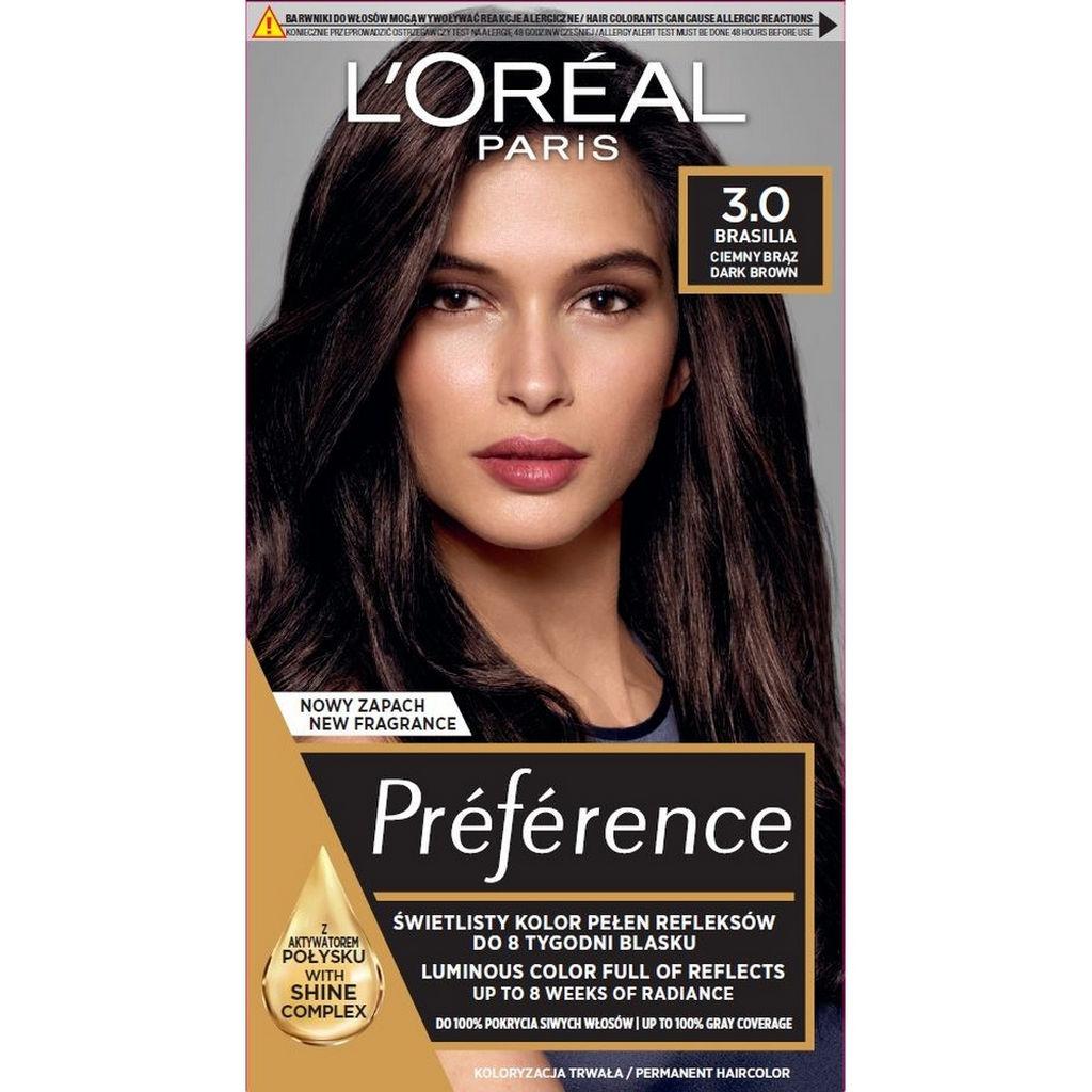 Barva za lase L'Oreal Preference Recital 3