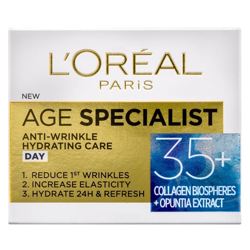 Krema za obraz L'Oreal, Age Specialist 35+, dnevna, 50 ml