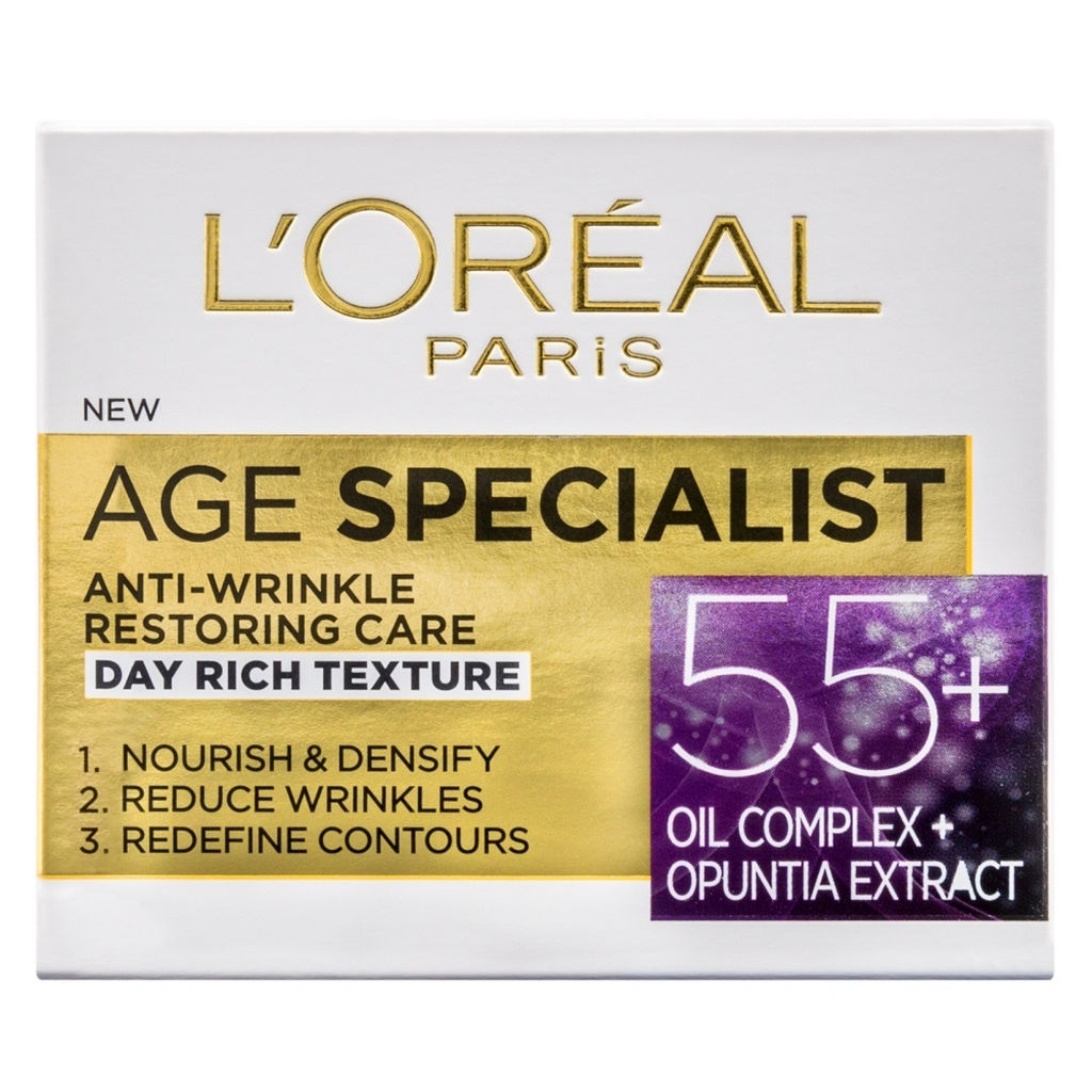 Krema L'oreal, Age specialist 55+, dnevna, 50 ml