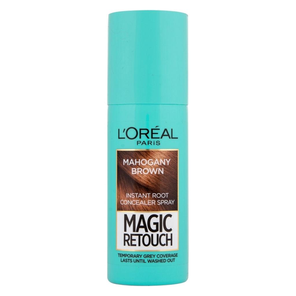 Sprej za prekrivanje narastka L'Oreal, Magic retouch, mahagoni