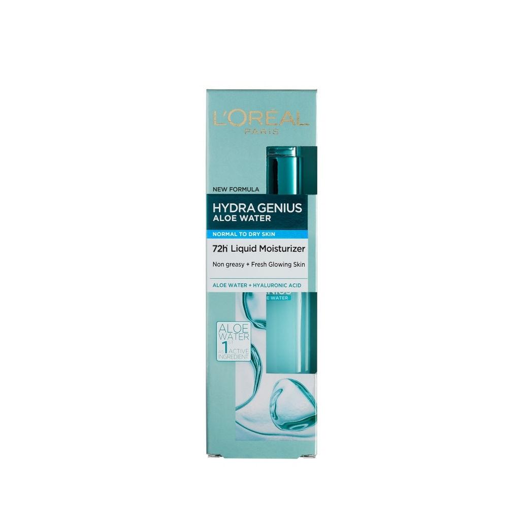 Serum L'Oreal, Hydra Genius, vlažilni, normalna in suha koža, 70 ml