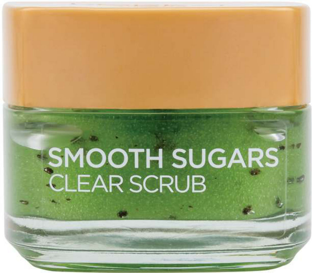 Piling L'oreal, Smooth Sugars Clear Scrub, 50 ml