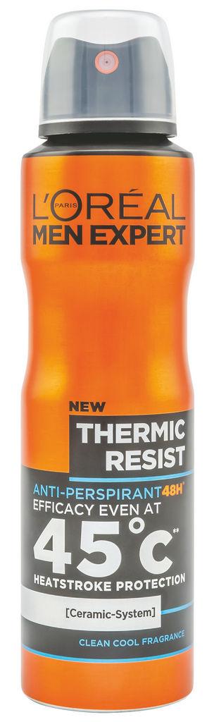 Dezodorant v spreju L'Oreal, Men expert thermic resist, 150 ml