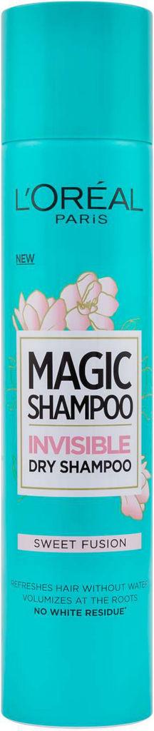 Šampon za lase suhi L'oreal, Magic shampoo Sweet fusion, 200 ml