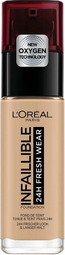 Puder tekoči L'Oreal Paris Infaillible 200 Golden sand