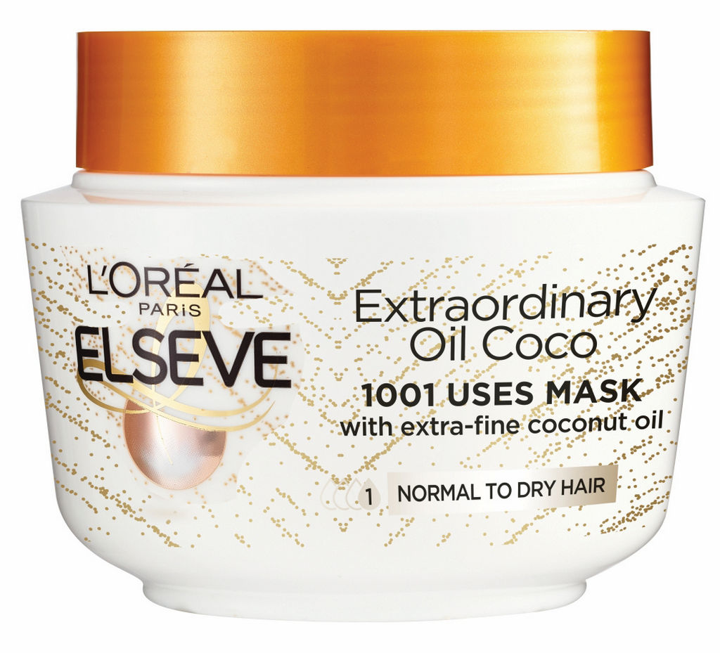 Maska za lase Elseve, Extraordinary oil, kokos, 300 ml