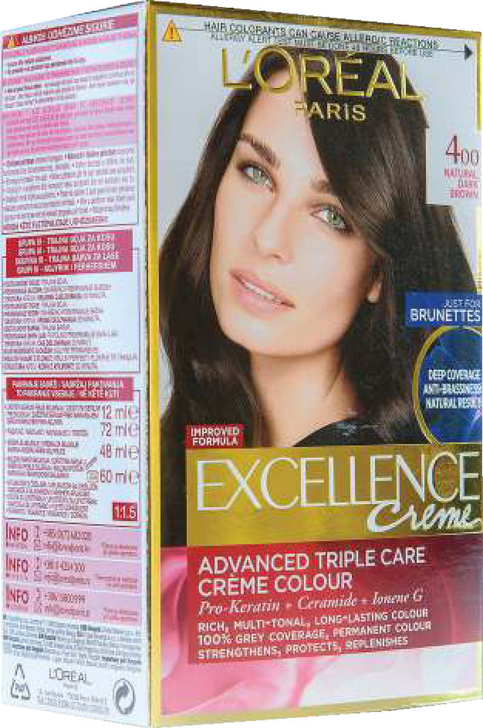 Barva za lase L'Oreal Excellence 400