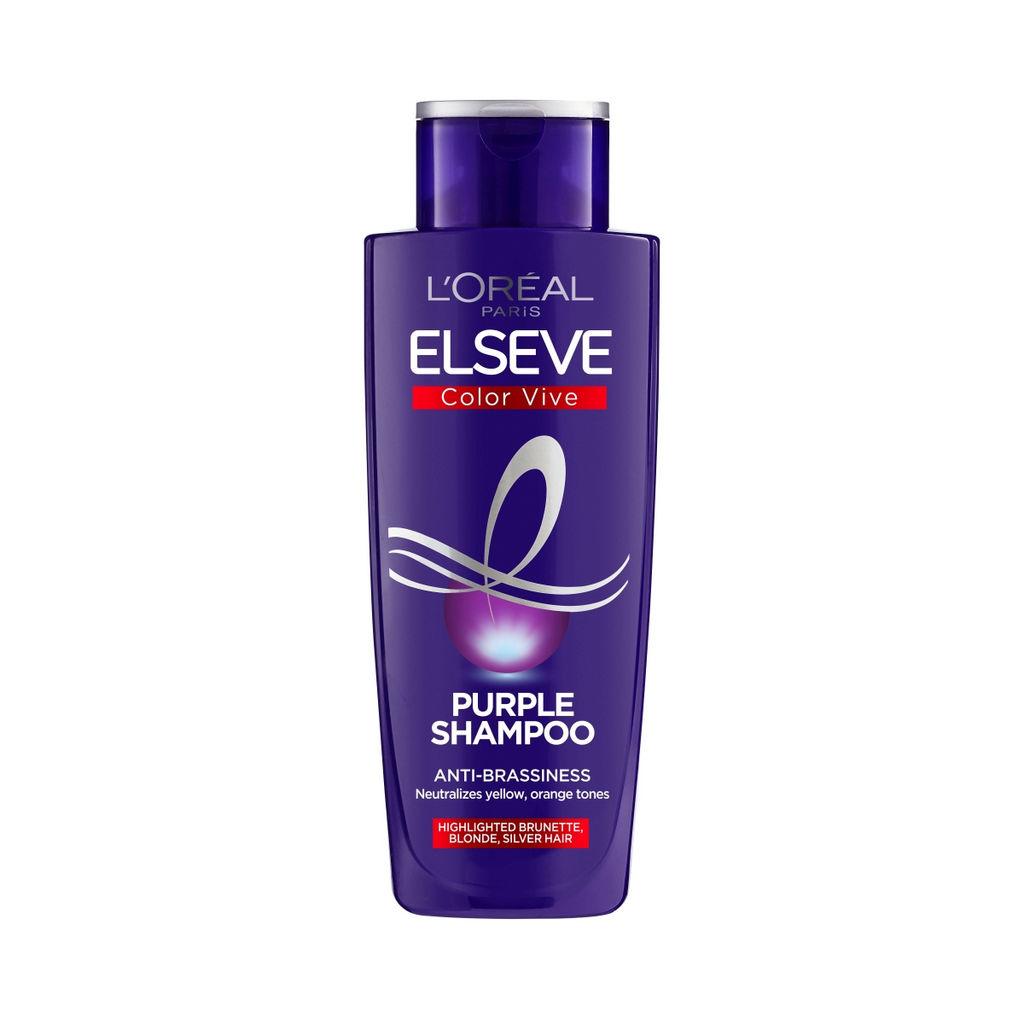 Šampon Elseve, Color vive – Purple, 200 ml