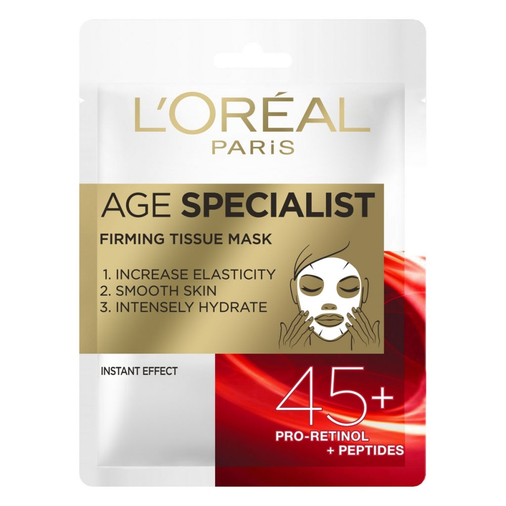 Maska L'oreal A ge specialist tissue 45+