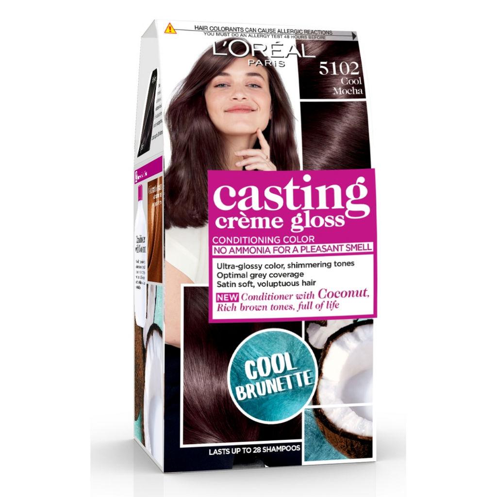 Barva za lase L'Oreal Casting Creme Gloss 510