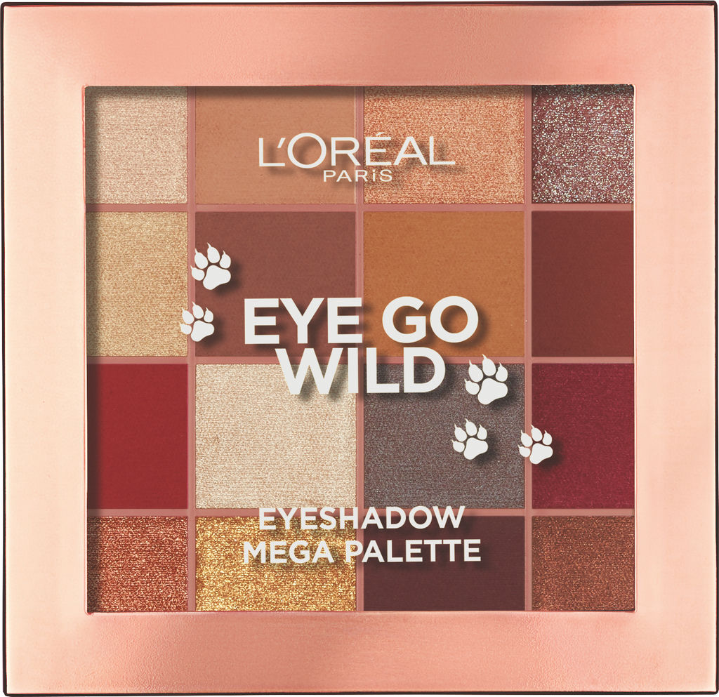 Paleta L'oreal, Eye go wild, 03