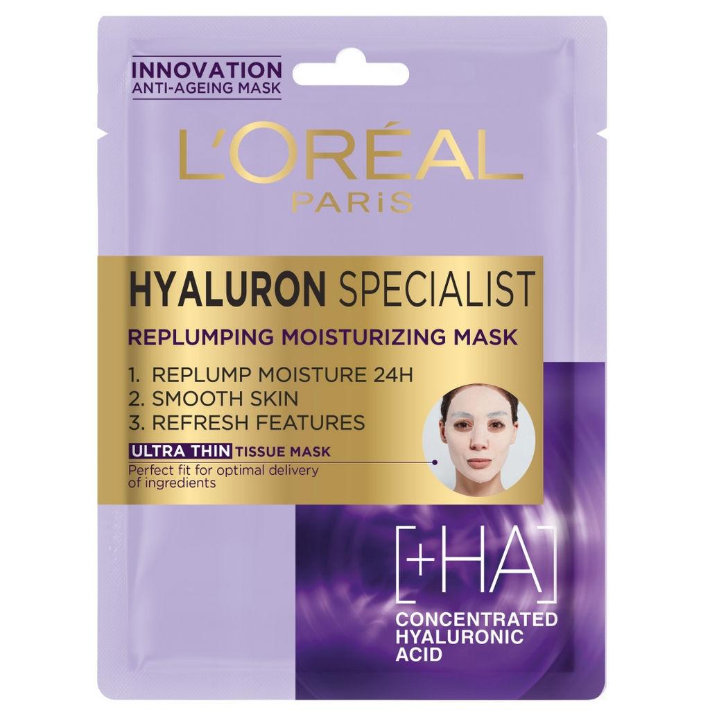 Maska L'oreal Dermo hyaluron specialist tissue