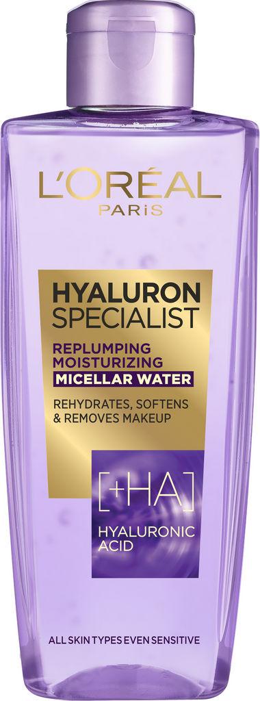 Micelarna voda Loreal, Hyaluron specialist, 200 ml