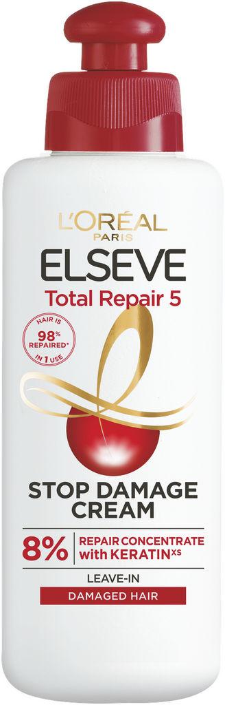 Krema za lase Elseve, Total repair 5, leave in cream nega, 200 ml