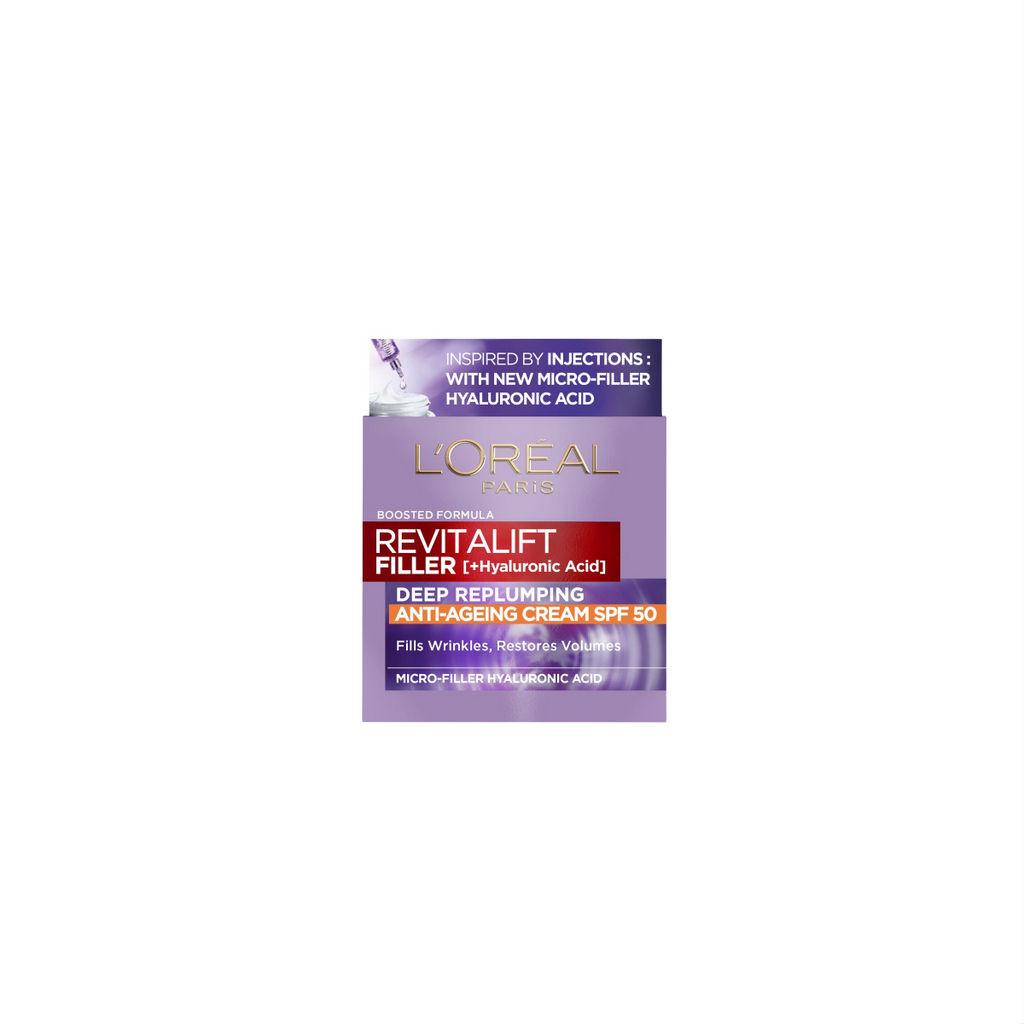 Krema Revitalift filler, SPF 50, 50 ml