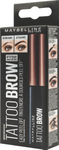 Gel za obrvi Maybelline New York Tattoo Brow peel-off Dark Brown