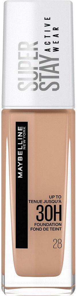 Puder tekoči Maybelline Superstay Active 30H Wear Soft Beige 28