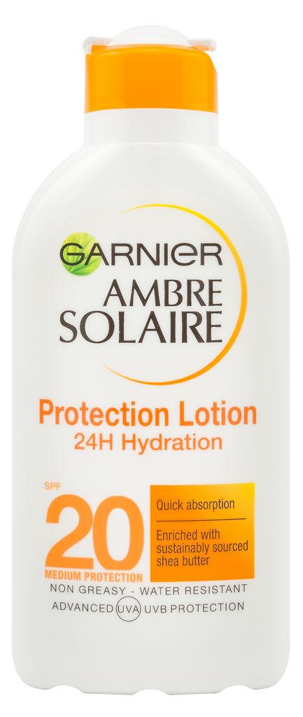 Mleko Garnier, Ambre Solaire SPF 20, 200 ml