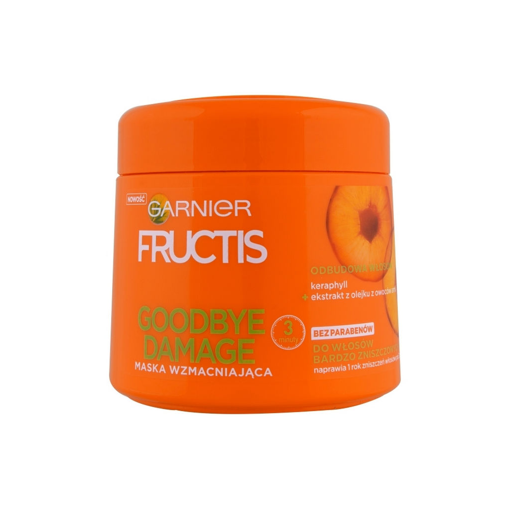Maska za poškodovane lase Fructis, Goodbye damage, 300 ml