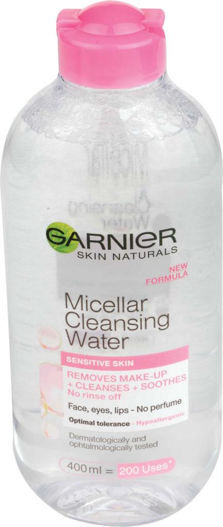 Micelarna voda Garnier, za občutljivo kožo, 400 ml