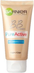 BB krema z obraz Garnier, Pure Active – Light, 50 ml