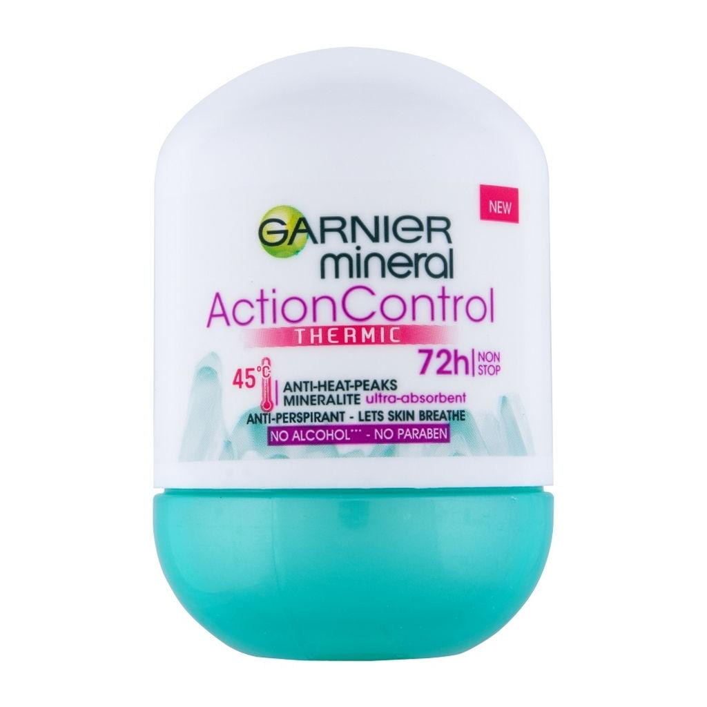 Dezodorant roll-on Garnier Action Control Termic, 50ml