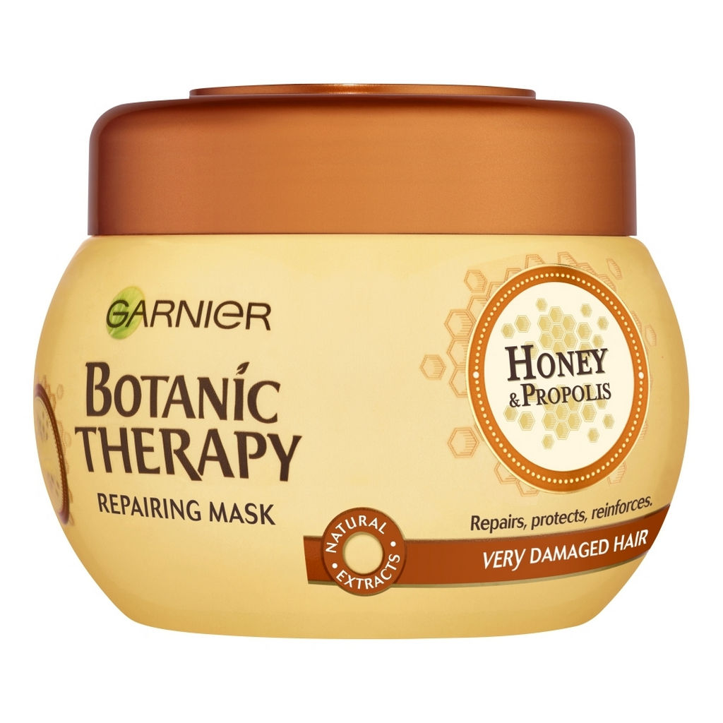 Maska za lase Garnier, Botanic THerapy  Honey & Propolis, 300 ml