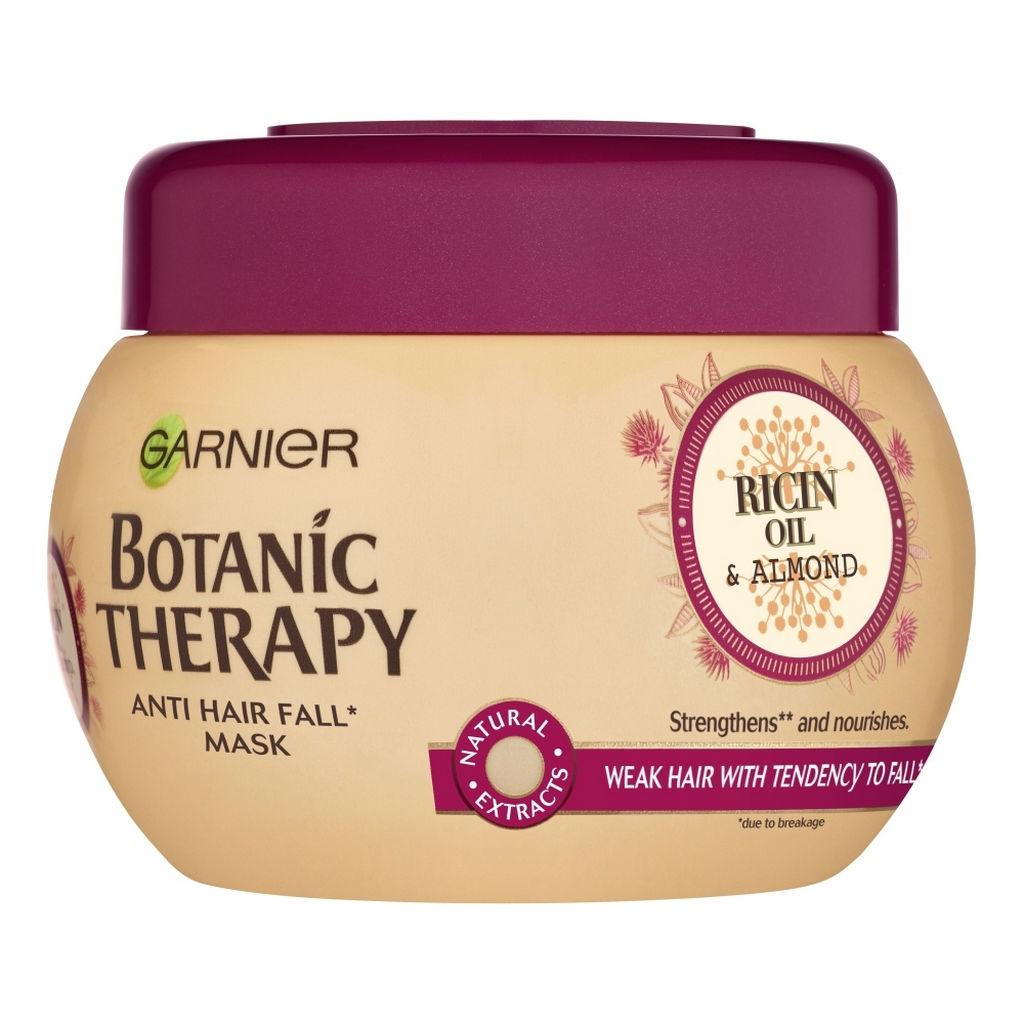 Maska za lase Garnier, Botanic Therapy Ricinus oil & Almond, 300 ml