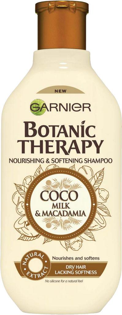 Šampon za lase Garnier, Botanic Therapy Coco Milk & Macadamia, 250 ml