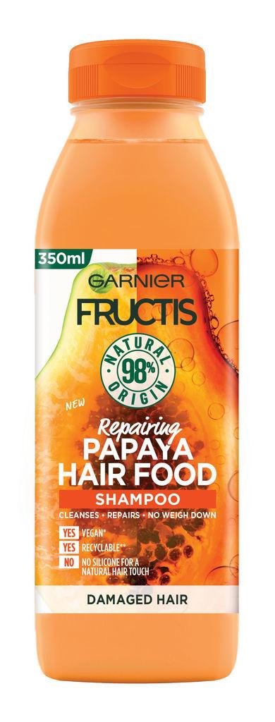 Šampon za lase Fructis, Hair food papaya, 350ml