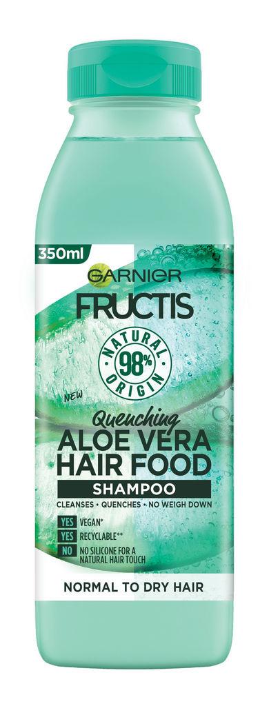 Šampon za lase Fructis, Hair food aloe vera, 350ml