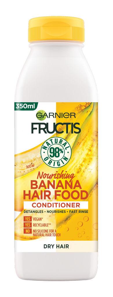 Balzam za lase Fructis, Hair food banana, 350ml