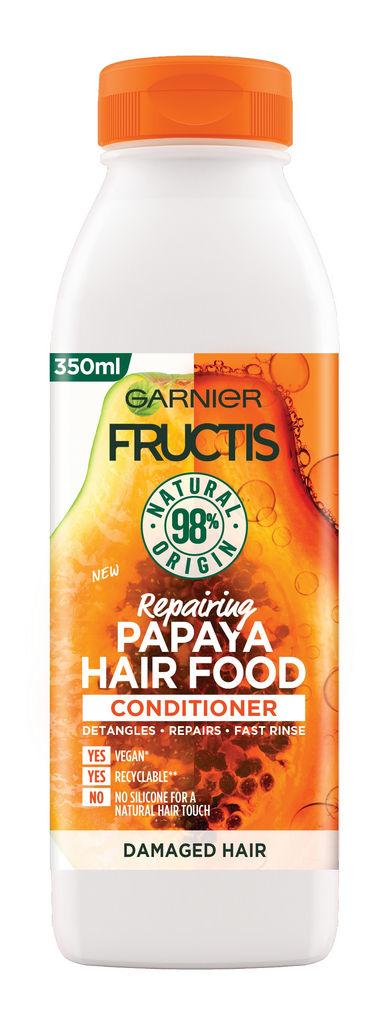 Balzam za lase Fructis, Hair food papaya, 350ml