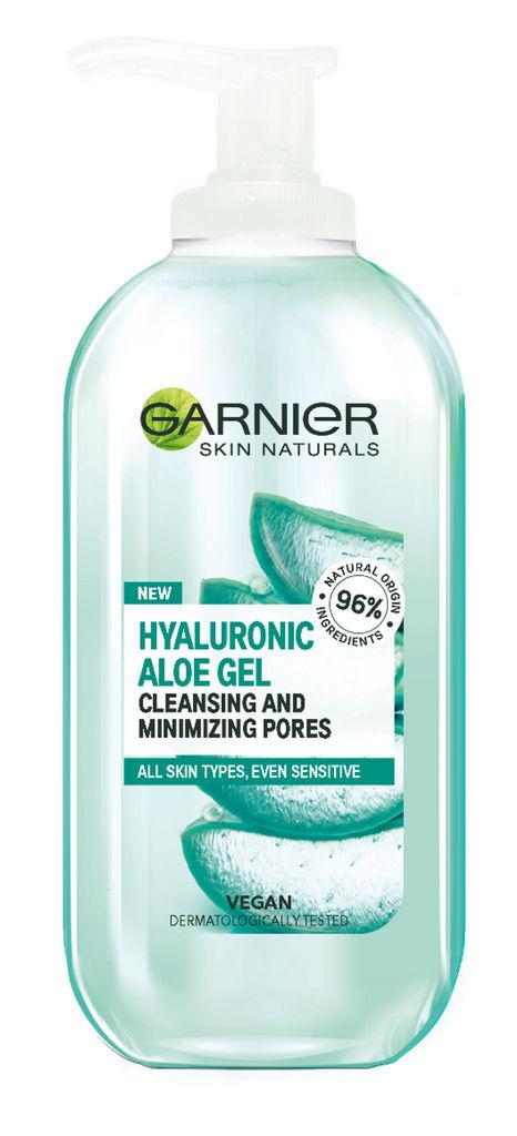 Gel za umivanje Garnier Hyaluronic, Aloe, 200 ml