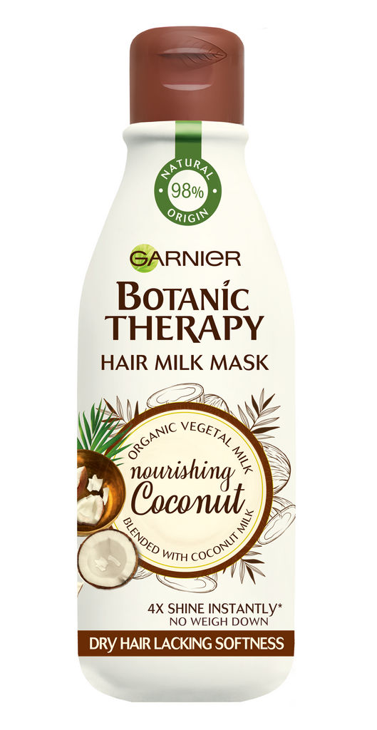 Maska za lase Botanic therapy, Hair milk kokos, 250ml