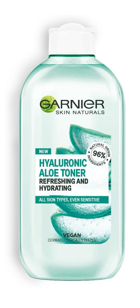 Tonik vlažilni Garnier Hyaluronic, Aloe, 200 ml