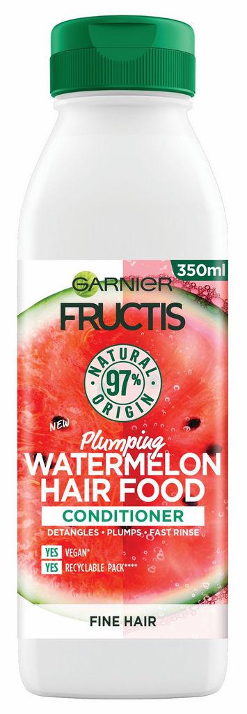Balzam Garnier, Fructis hairfood, watermelon, 350 ml