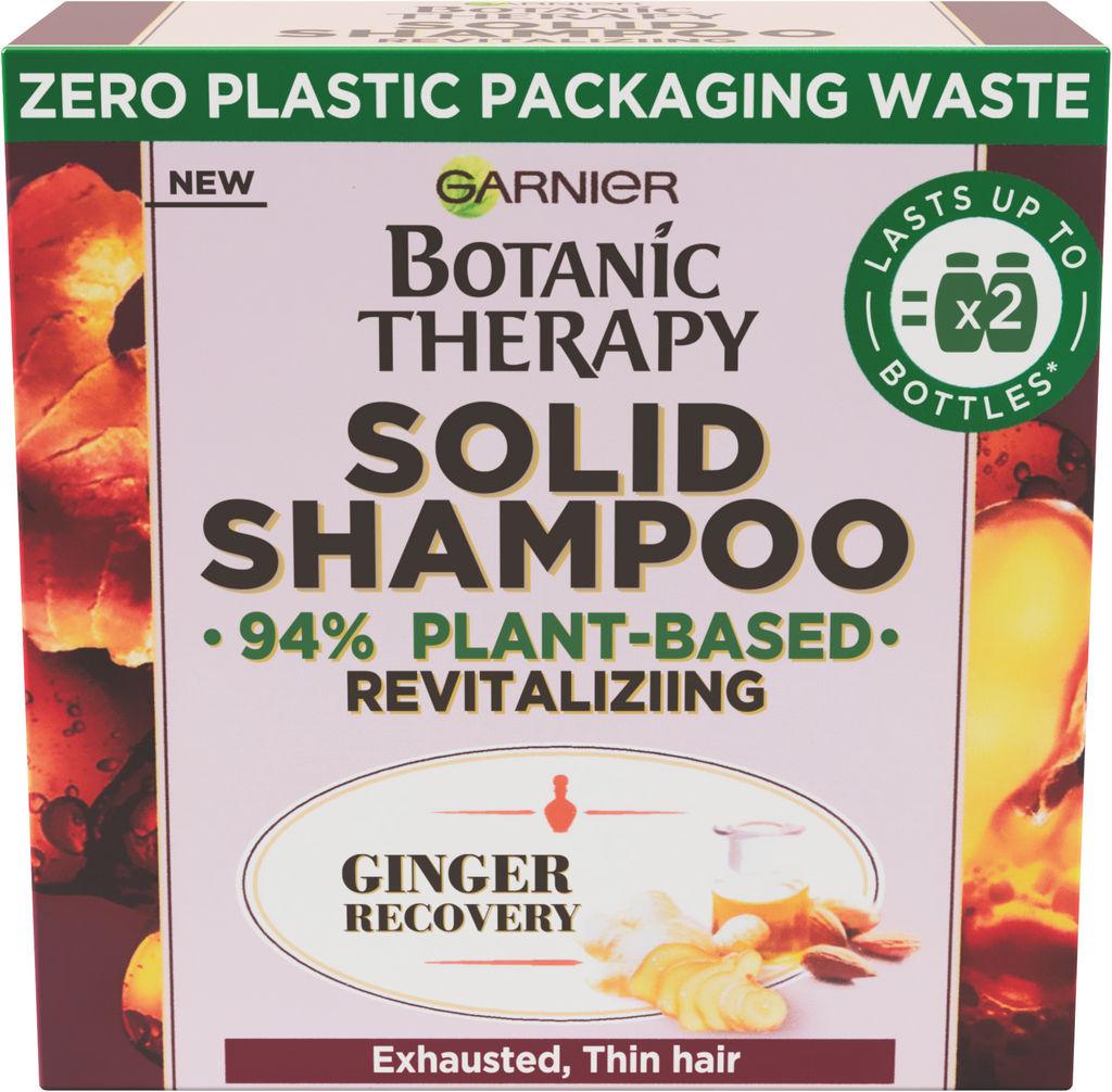 Šampon za lase Botanic therapy, solid ginger, 60 g