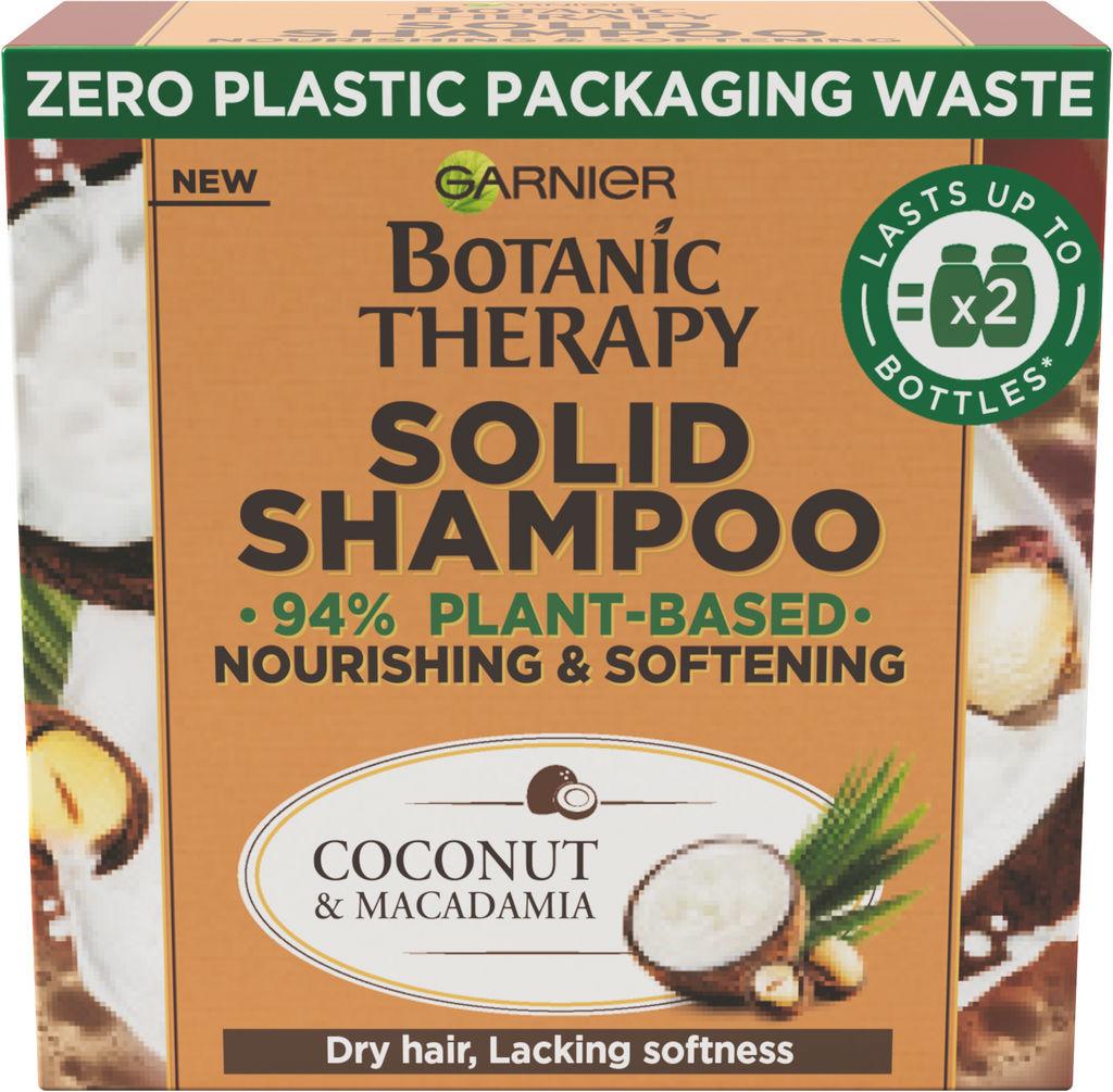 Šampon za lase Botanic, therapy, solid coco, 60 g