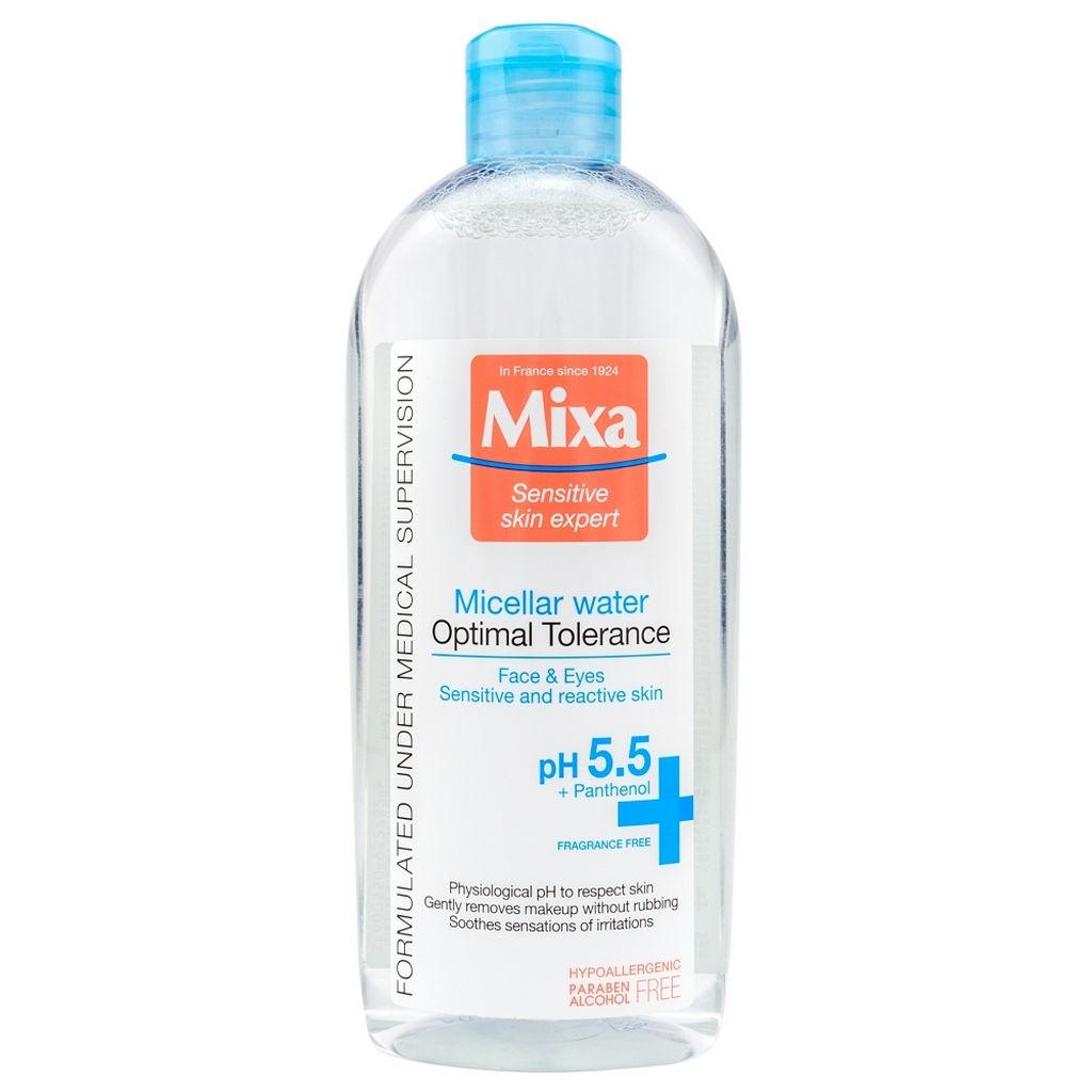Micelarna vodica Mixa, za občutljivo kožo, 400 ml