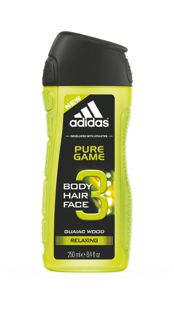 Gel za prhanje Adidas, Pure game moški, 250ml