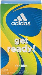 Toaletna voda Adidas, Get Ready, moška, 50ml