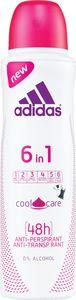Dezodorant sprej Adidas 6v1 Cool&Care ženski, 150ml