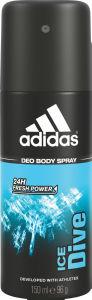 Dezodorant sprej Adidas Ice Dive moški, 150ml
