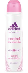 Dezodorant sprej Adidas Control ženski, 150ml