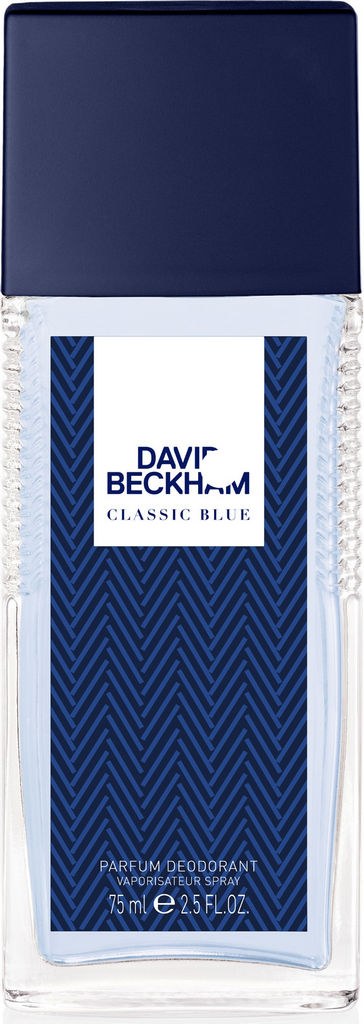 Deodorant David Beckham, Classic Blue, moški, 75ml